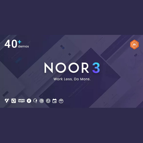 Noor | Multi-Purpose & Fully Customizable Creative AMP Theme