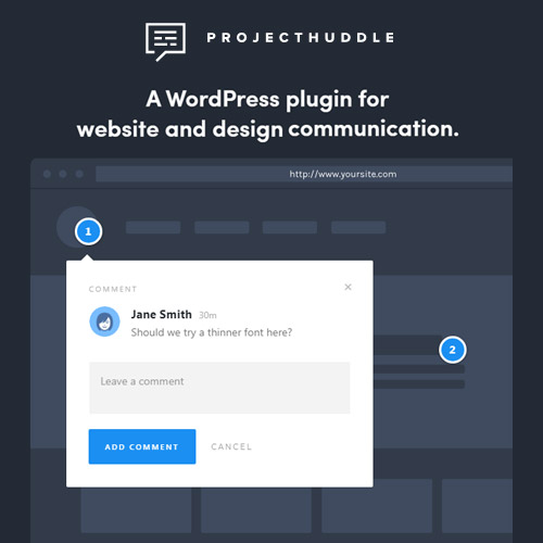 ProjectHuddle – A WordPress plugin for website and design communication