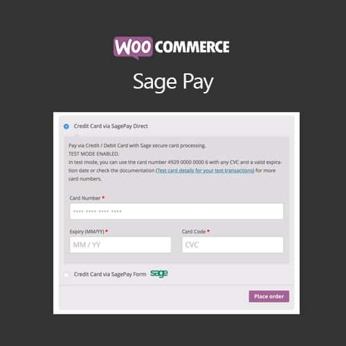 WooCommerce SagePay Form