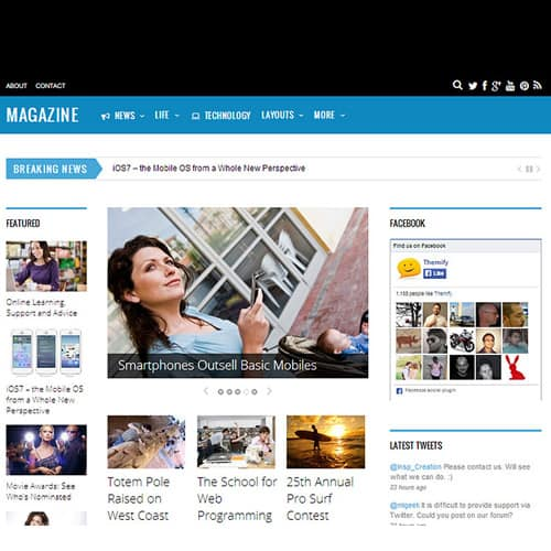 Themify Magazine WordPress Theme