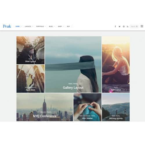 Themify Peak WordPress Theme