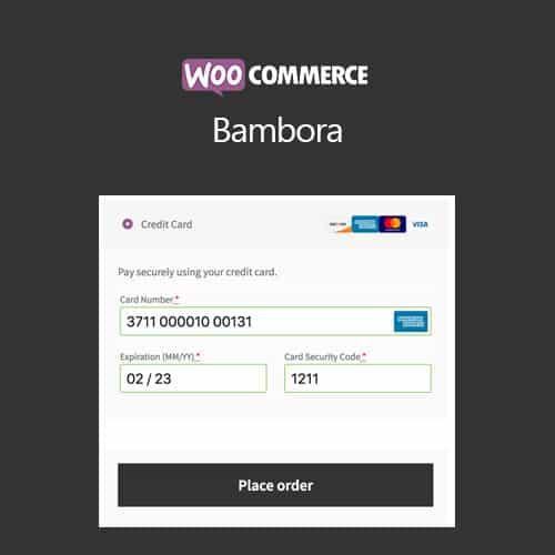 WooCommerce Bambora