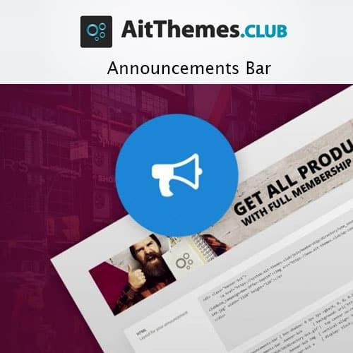 AIT Announcements Bar 3.0.2 1