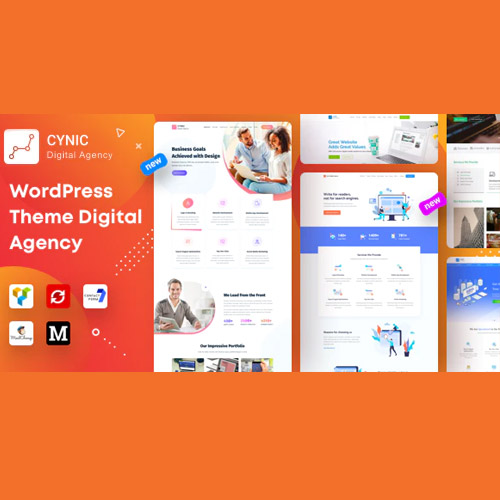 Agency Cynic – Digital Agency, Startup Agency, Creative Agency WordPress Theme