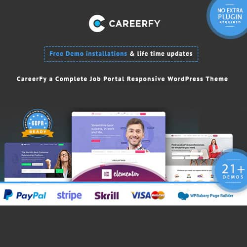 Careerfy – Job Board WordPress Theme