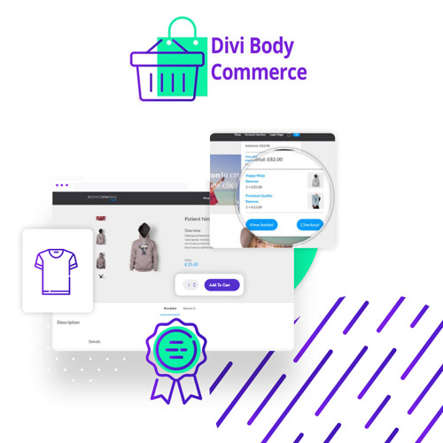 Divi BodyCommerce