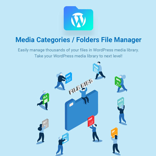 FileBird – WordPress Media Library Folders
