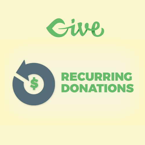 Give – Recurring Donations