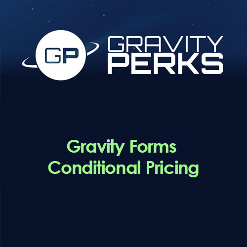 Gravity Perks Gravity Forms Conditional Pricing