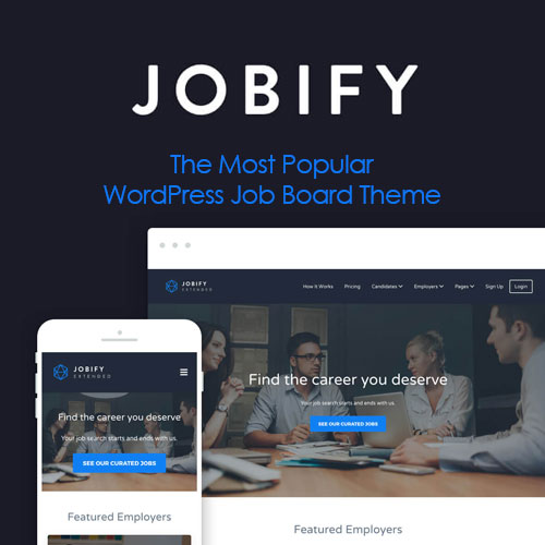Jobify – The Most Popular WordPress Job Board Theme