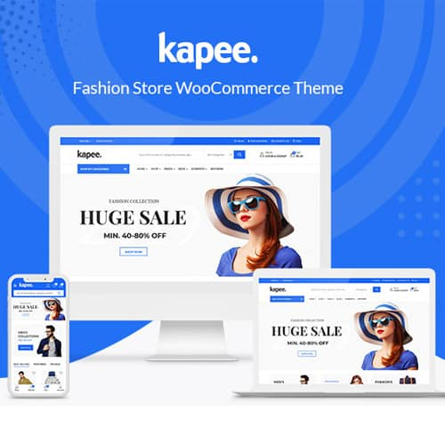 Kapee – Fashion Store WooCommerce Theme