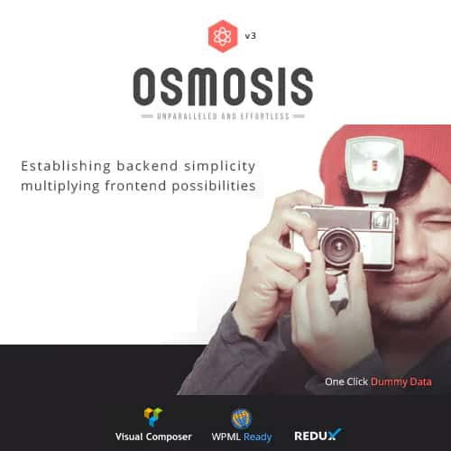 Osmosis – Responsive Multi-Purpose Theme