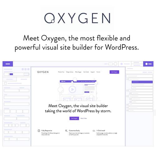 Oxygen 2.0 – The Visual Website Builder