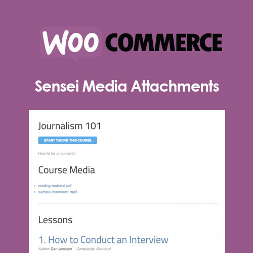 Sensei Media Attachments