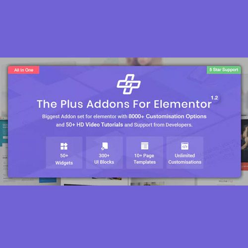 The Plus-Addon-for-Elementor-Page-Builder-WordPress-Plugin