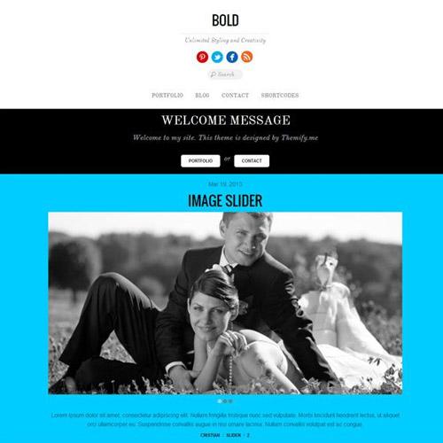 Themify Bold WordPress Theme