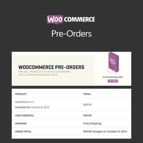 WooCommerce Pre-Orders 1.5.29 1