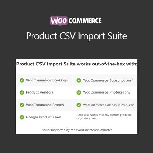 WooCommerce Product CSV Import Suite