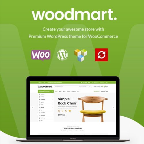WoodMart – Responsive WooCommerce WordPress Theme