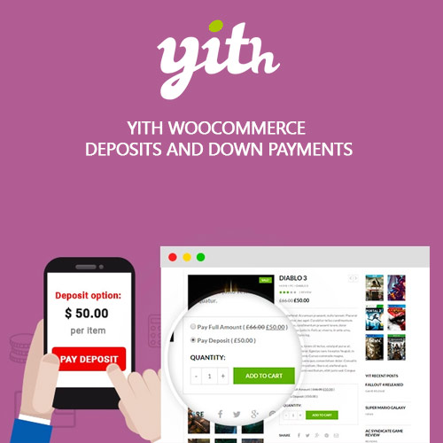 YITH WooCommerce Deposits and Down Payments Premium