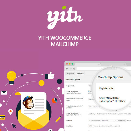 YITH WooCommerce Mailchimp Premium 2.1.7 1