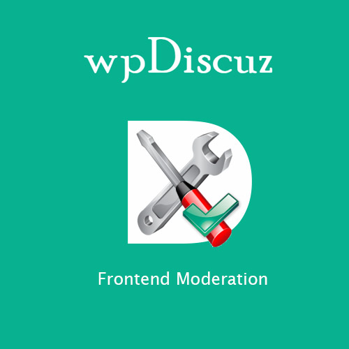wpDiscuz – Frontend Moderation