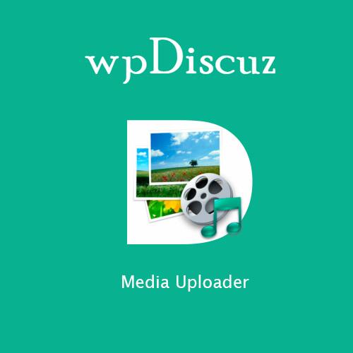 wpDiscuz – Media Uploader
