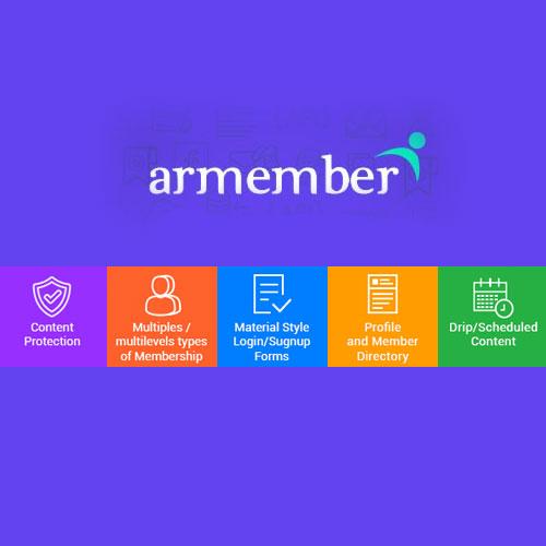 ARMember – WordPress Membership Plugin