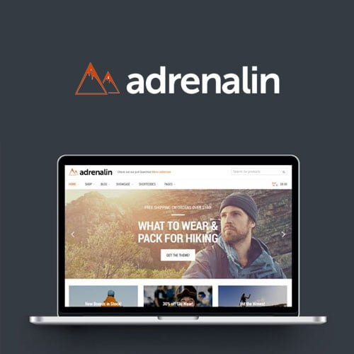 Adrenalin – Multi-Purpose WooCommerce Theme