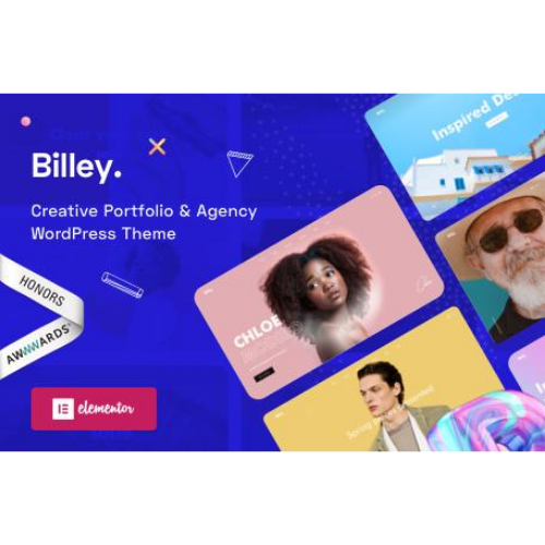 Billey - Creative Portfolio & Agency WordPress Theme
