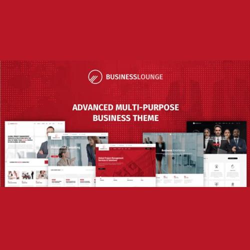 Business Lounge | Multi-Purpose Consulting & Finance Theme