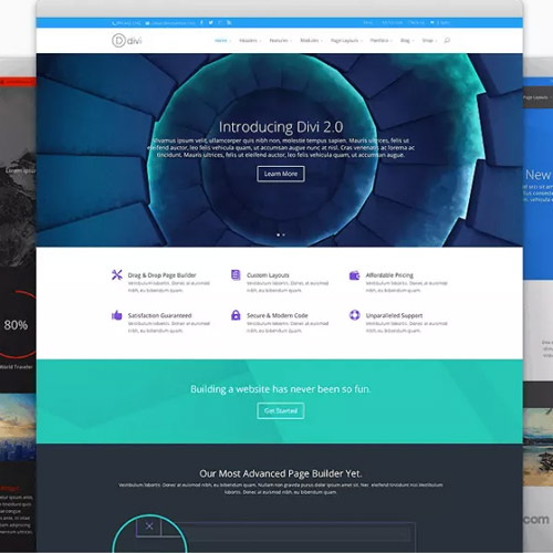 Elegant Themes Divi WordPress Theme + Layouts