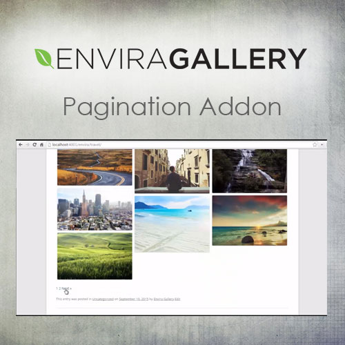 Envira Gallery – Pagination Addon