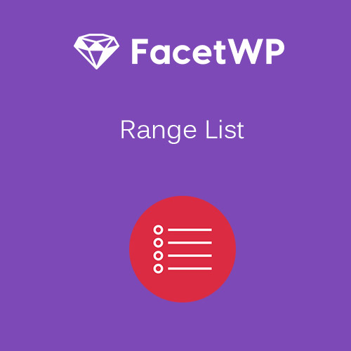 FacetWP – Range List