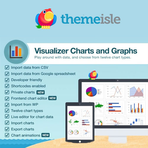 ThemeIsle Visualizer Charts and Graphs Pro