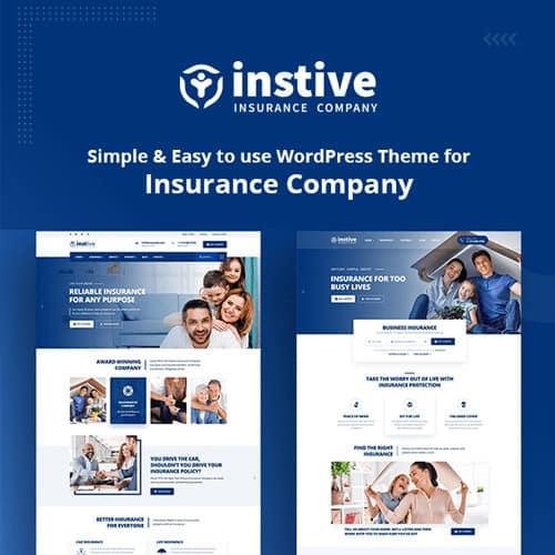 Instive – Insurance WordPress Theme