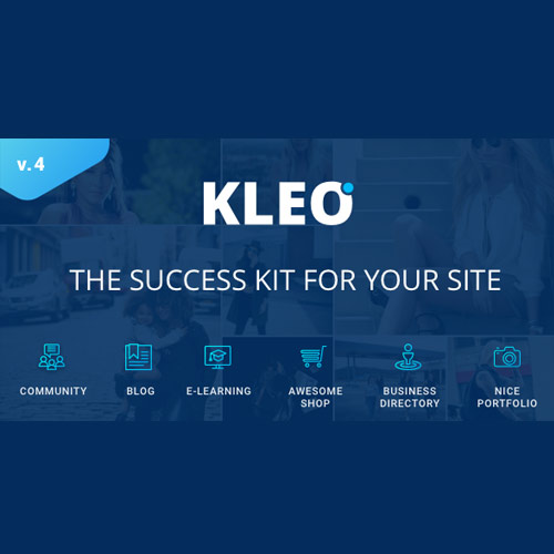 KLEO – Pro Community Focused – Multi-Purpose BuddyPress Theme