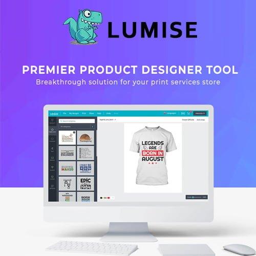 Lumise Product Designer | WooCommerce WordPress