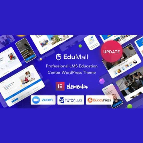 EduMall – Professional LMS Education Center WordPress Theme