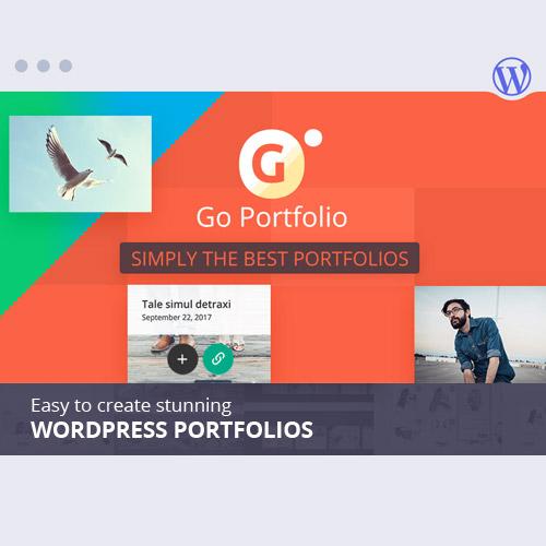 Go Portfolio – WordPress Responsive Portfolio