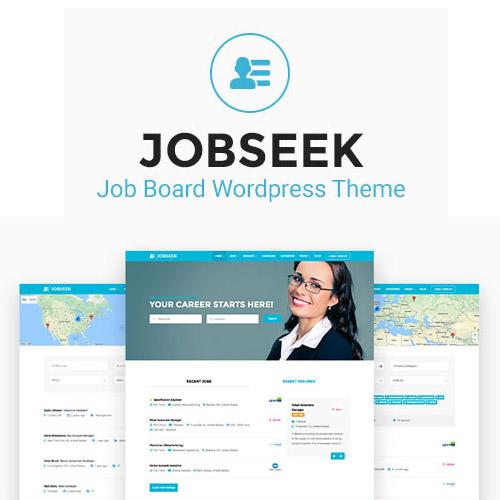 Jobseek – Job Board WordPress Theme