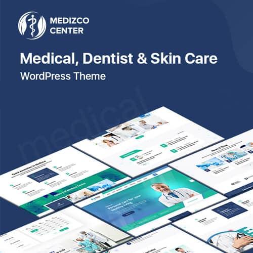 Medizco – Medical Health & Dental Care Clinic WordPress Theme
