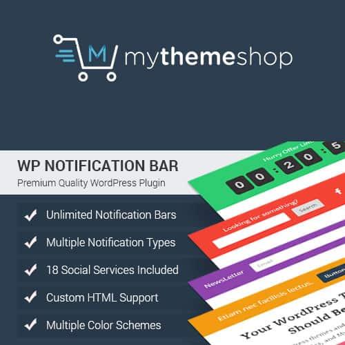 MyThemeShop WP Notification Bar Pro