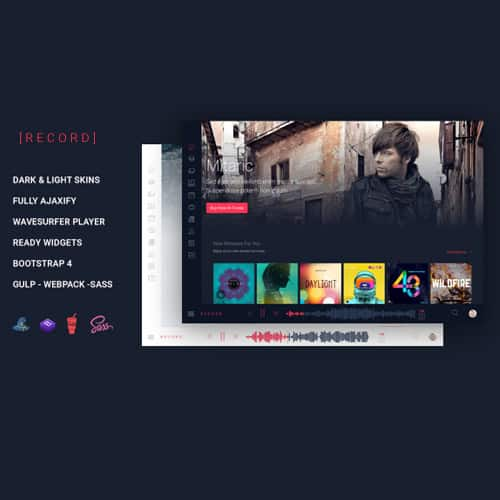 Rekord – Ajaxify Music – Events – Podcasts Multipurpose WordPress Theme