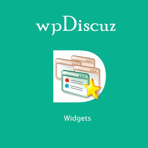 wpDiscuz – Widgets