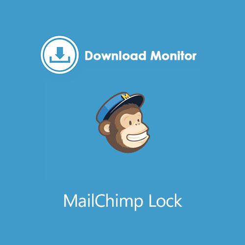 Download Monitor MailChimp Lock