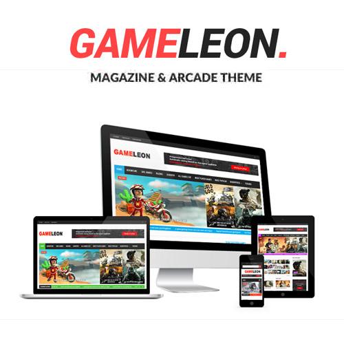 Gameleon – WordPress Arcade Theme & News Magazine