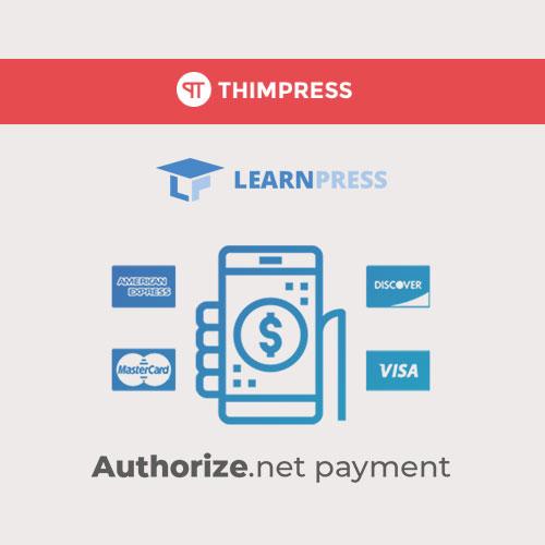 LearnPress – Authorize.Net Payment
