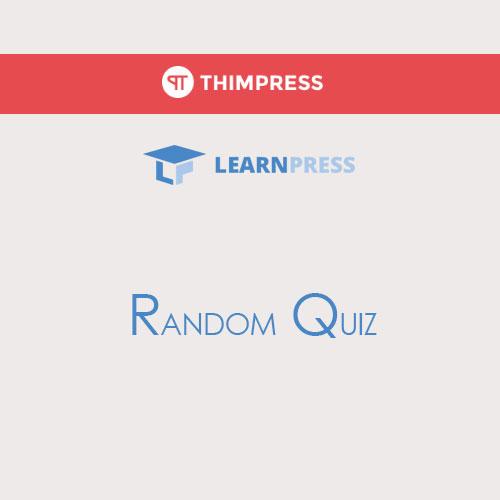 LearnPress – Random Quiz
