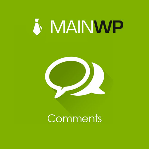 MainWP Comments